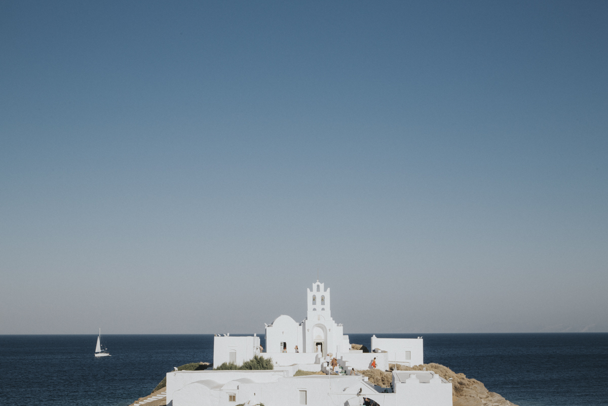 A party wedding on Sifnos island